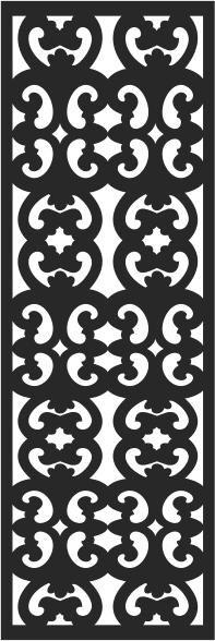 Window pattern design Free CDR Vectors Art
