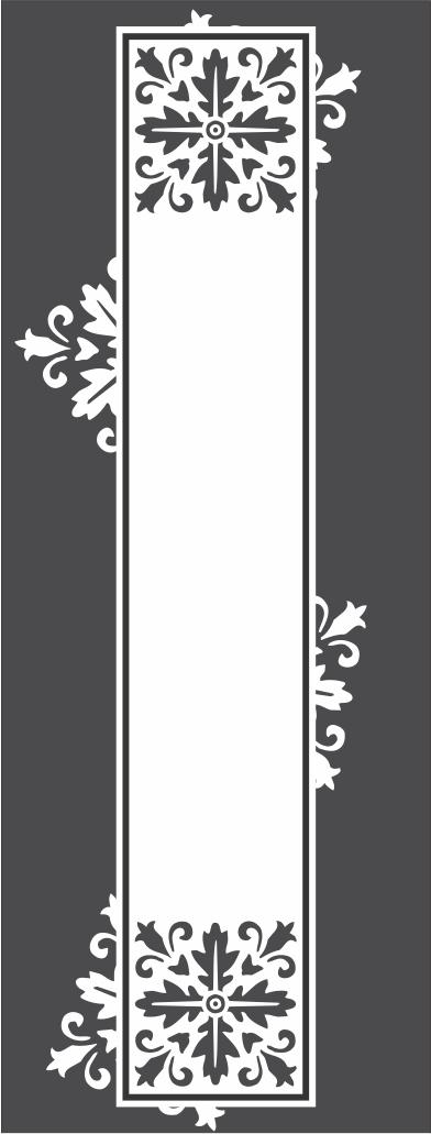 Glass doors pattern Free CDR Vectors Art