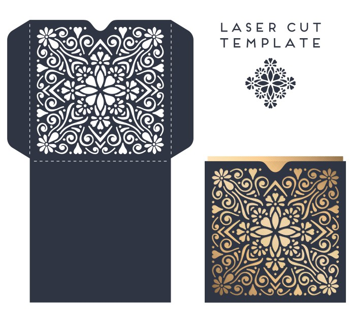 Vector Template Of The Envelope 009 Free CDR Vectors Art