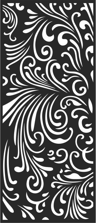 Abstract LaserCut Panel Pattern Free CDR Vectors Art