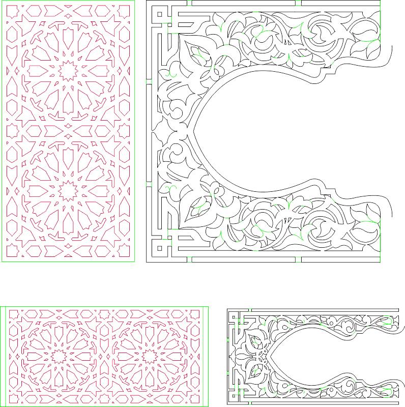 Decorative Pattern Free CDR Vectors Art