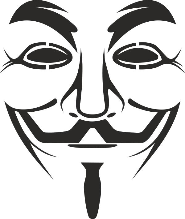 Vendetta Mask Logo Free CDR Vectors Art