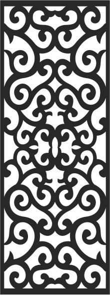 Laser Cut Decorative design Free CDR Vectors Art