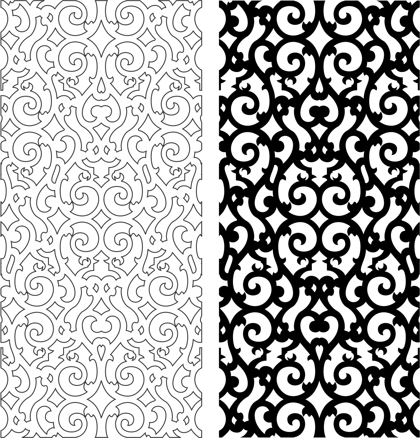 Pattern Modern Free CDR Vectors Art