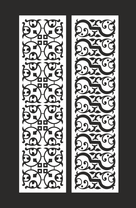Abstract Screen Pattern Free CDR Vectors Art