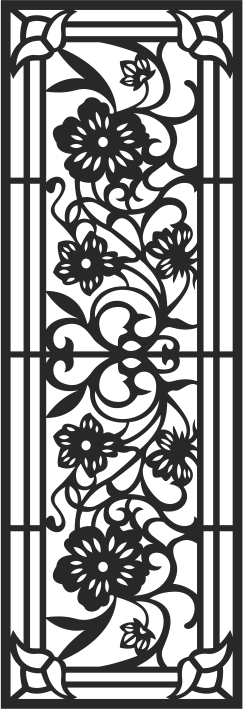 Fence Panels Pattern Free CDR Vectors Art