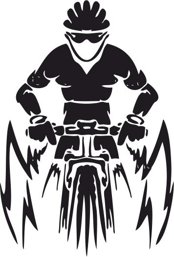 Mountain Bike Free CDR Vectors Art