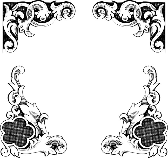 European Classic lace border Free CDR Vectors Art