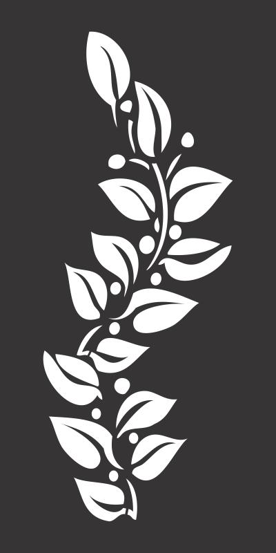 Flower motif, Flower design element Free CDR Vectors Art