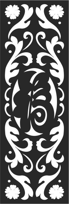 Seamless Screen Stencils Pattern Free CDR Vectors Art