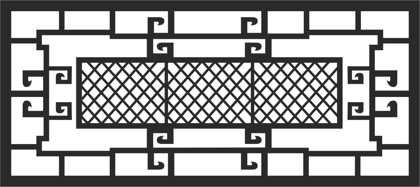 Window Grill Free CDR Vectors Art