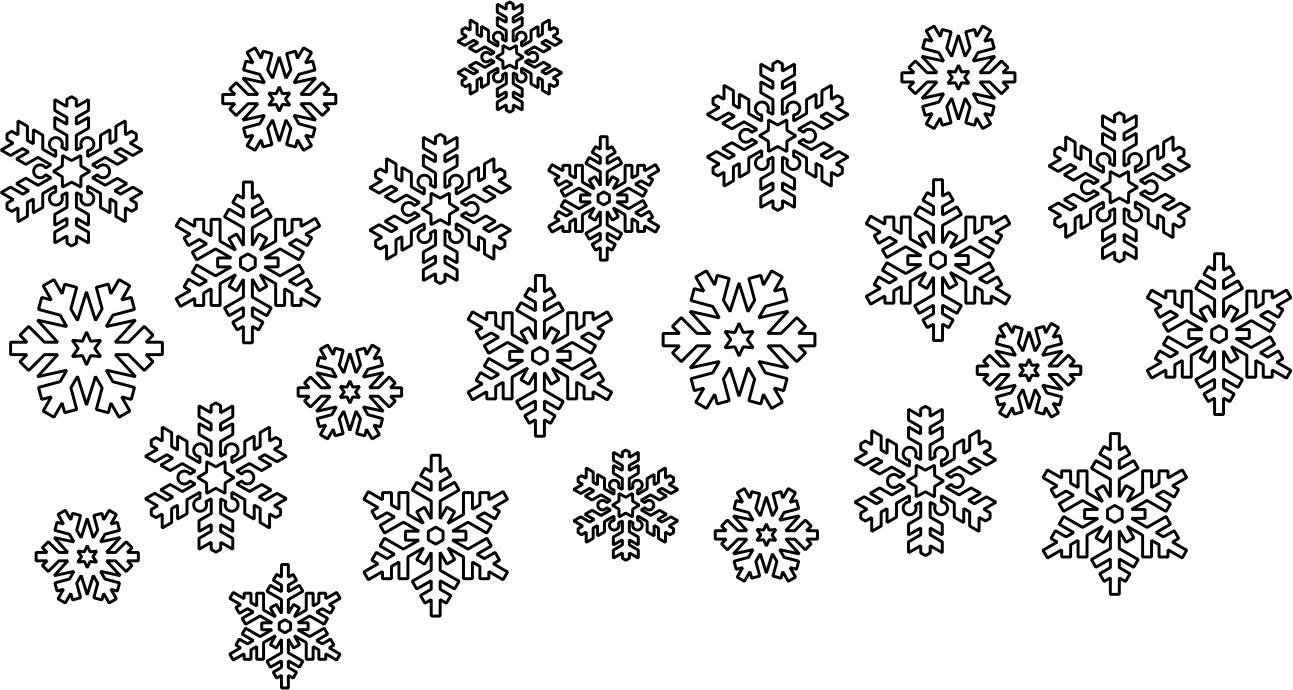Snowflake Vectors Free CDR Vectors Art