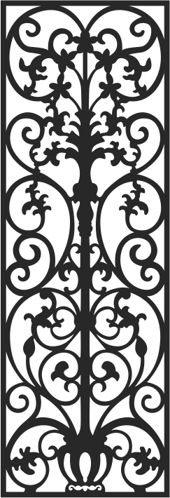 Vectorized fretwork pattern Free CDR Vectors Art