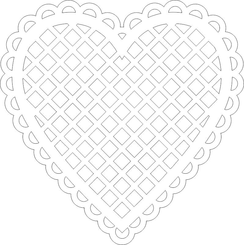 Graphique قلب Heart Free CDR Vectors Art