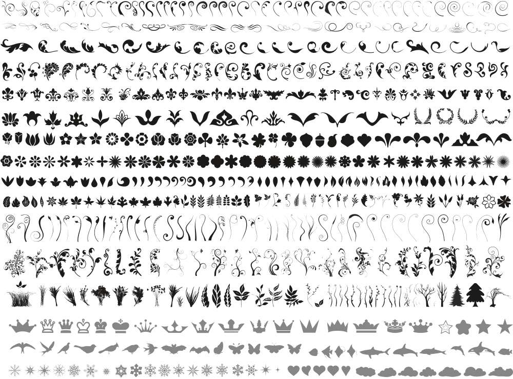 Package Of Elements Free CDR Vectors Art
