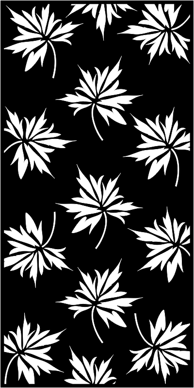 Set of Seamless Leaves pattern Free CDR Vectors Art