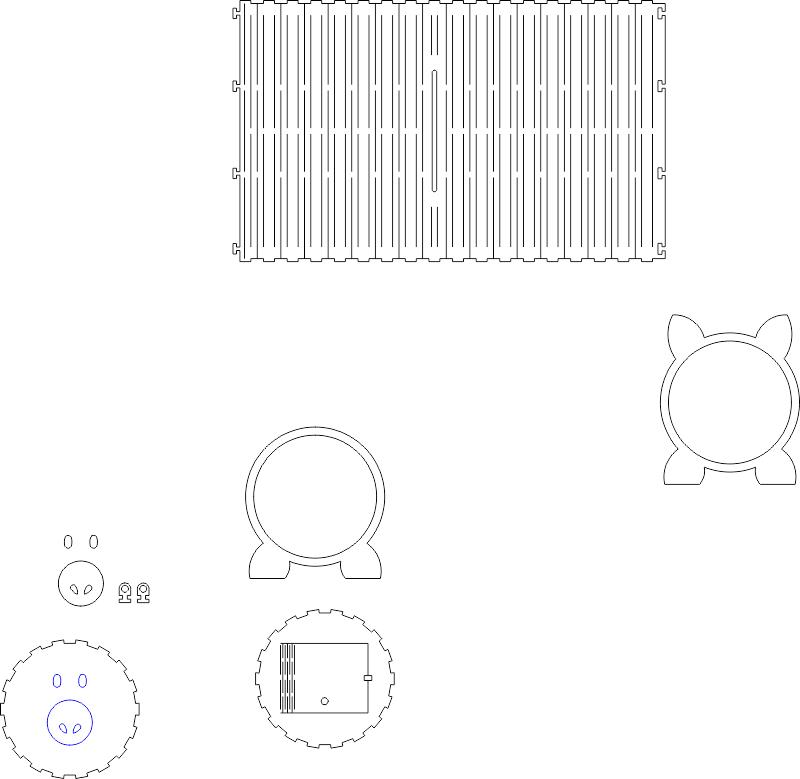 علبة مناديل او حصالة مدورة Free CDR Vectors Art