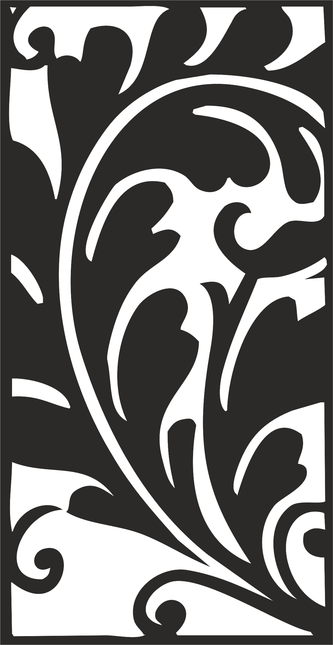 Classical Traditional Floral Pattern Free CDR Vectors Art