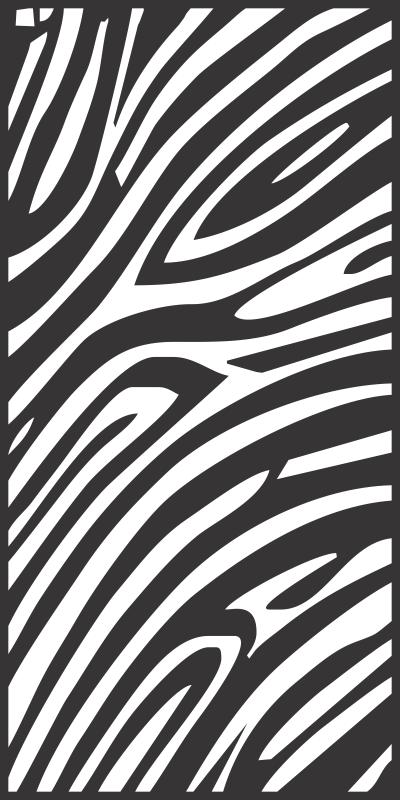 Seamless Zebra Skin Pattern Free CDR Vectors Art