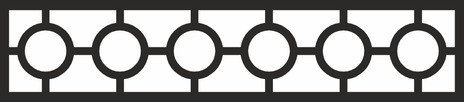Circles Geometric Lattice Pattern Free CDR Vectors Art