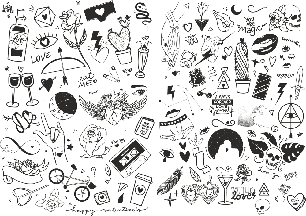 Valentines Icons Vector Pack Free CDR Vectors Art
