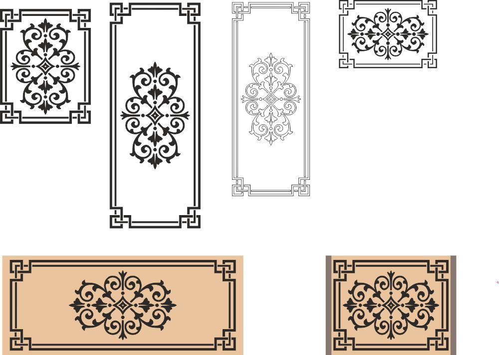 Ornaments Frames And Border Free CDR Vectors Art