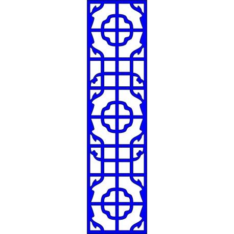 Cnc Panel Laser Cut Pattern File cn-l643 Free CDR Vectors Art