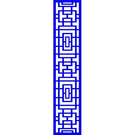 Cnc Panel Laser Cut Pattern File cn-l644 Free CDR Vectors Art