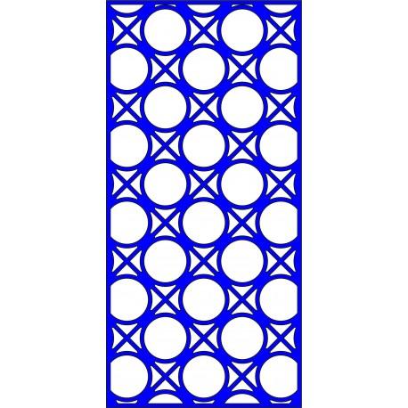 Cnc Panel Laser Cut Pattern File cn-l646 Free CDR Vectors Art