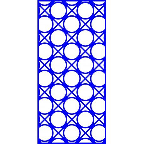 Cnc Panel Laser Cut Pattern File cn-l647 Free CDR Vectors Art