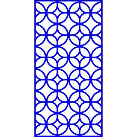 Cnc Panel Laser Cut Pattern File cn-l649 Free CDR Vectors Art