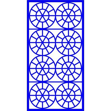 Cnc Panel Laser Cut Pattern File cn-l651 Free CDR Vectors Art