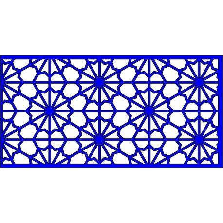 Cnc Panel Laser Cut Pattern File cn-l653 Free CDR Vectors Art