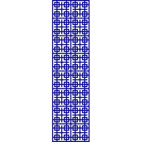 Cnc Panel Laser Cut Pattern File cn-l658 Free CDR Vectors Art