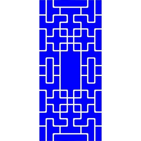 Cnc Panel Laser Cut Pattern File Cn m07 Free CDR Vectors Art