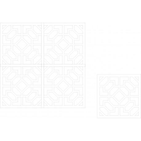 Cnc Panel Laser Cut Pattern File Cn m19 Free CDR Vectors Art