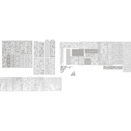 Cnc Panel Laser Cut Pattern File Cn n6 Free CDR Vectors Art