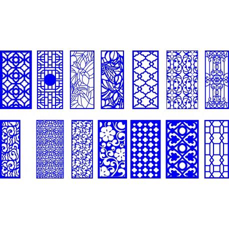 Cnc Panel Laser Cut Pattern File q3 Free CDR Vectors Art