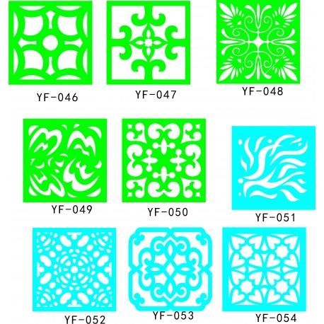 Cnc Panel Laser Cut Pattern File q6 Free CDR Vectors Art