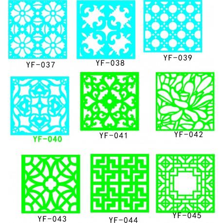 Cnc Panel Laser Cut Pattern File q7 Free CDR Vectors Art