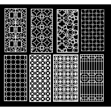 Cnc Panel Laser Cut Pattern File q17 Free CDR Vectors Art