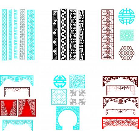 Cnc Panel Laser Cut Pattern File q30 Free CDR Vectors Art
