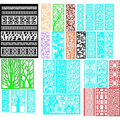 Cnc Panel Laser Cut Pattern File q31 Free CDR Vectors Art