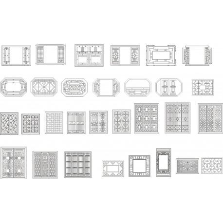 Cnc Panel Laser Cut Pattern File x17 Free CDR Vectors Art
