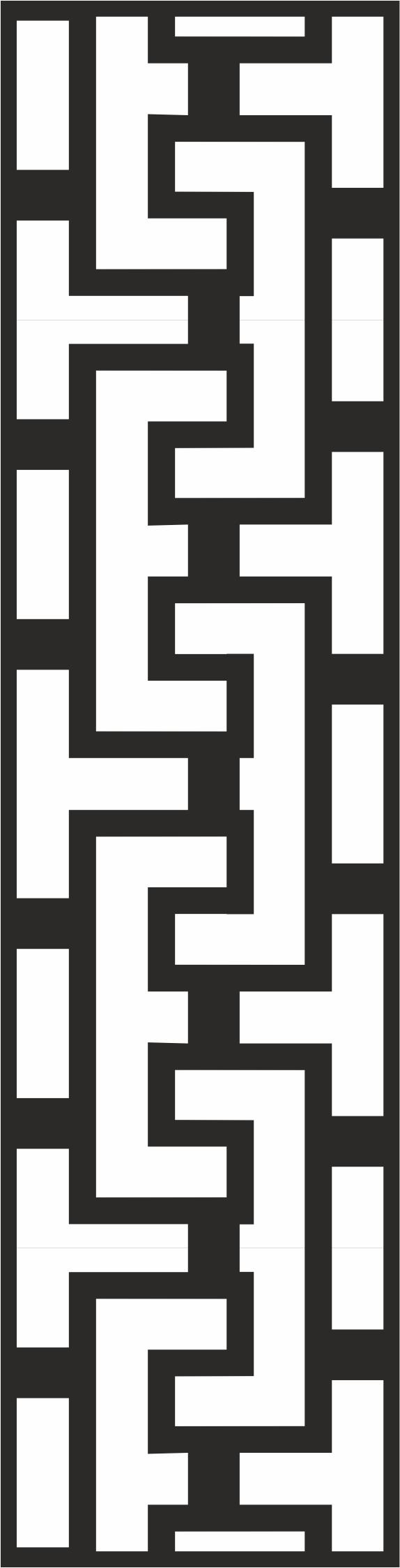 Geometric Line Frame Border Design Free CDR Vectors Art