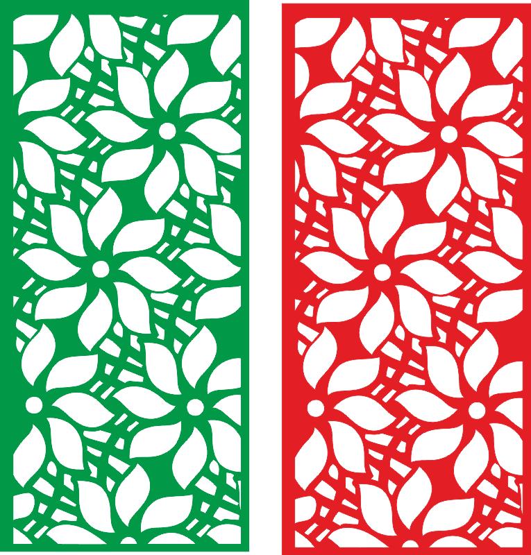Flower partition Free CDR Vectors Art