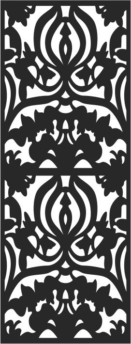 Laser Cut Seamless Pattern-040 Free CDR Vectors Art