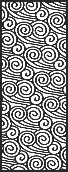 Laser Cut Seamless Pattern-028 Free CDR Vectors Art