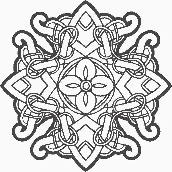 Celtic Ornament Decor Free CDR Vectors Art