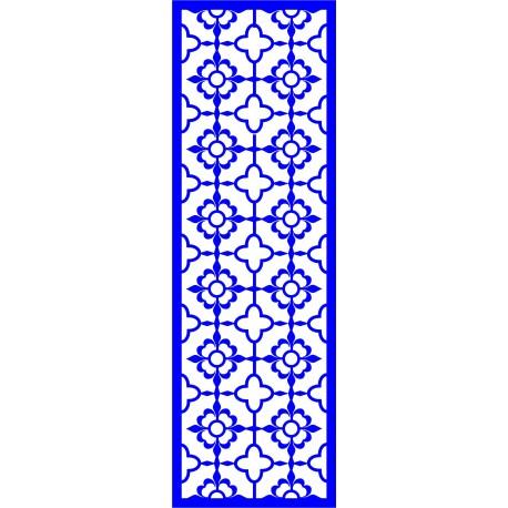Cnc Panel Laser Cut Pattern File cn-l639 Free CDR Vectors Art